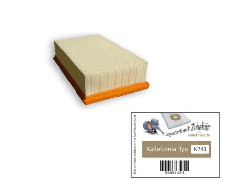 waschbarer PES Filter für Kärcher NT 45//1 Eco M ; Tact Te Ec M Flachfaltenfilter