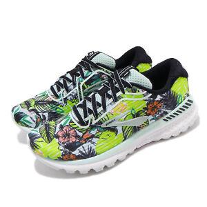 Brooks-Adrenaline-GTS-20-Tropical-Green-Black-Women-Road-Running-Shoes-120296-1B
