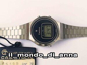 Orologio Da Polso Casio Casiotron Lady 27cl 18b-2 Vintage Computer Watch New _