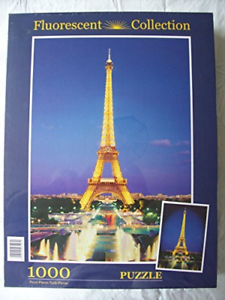 Tour Eiffel Paris 1000 piece puzzle