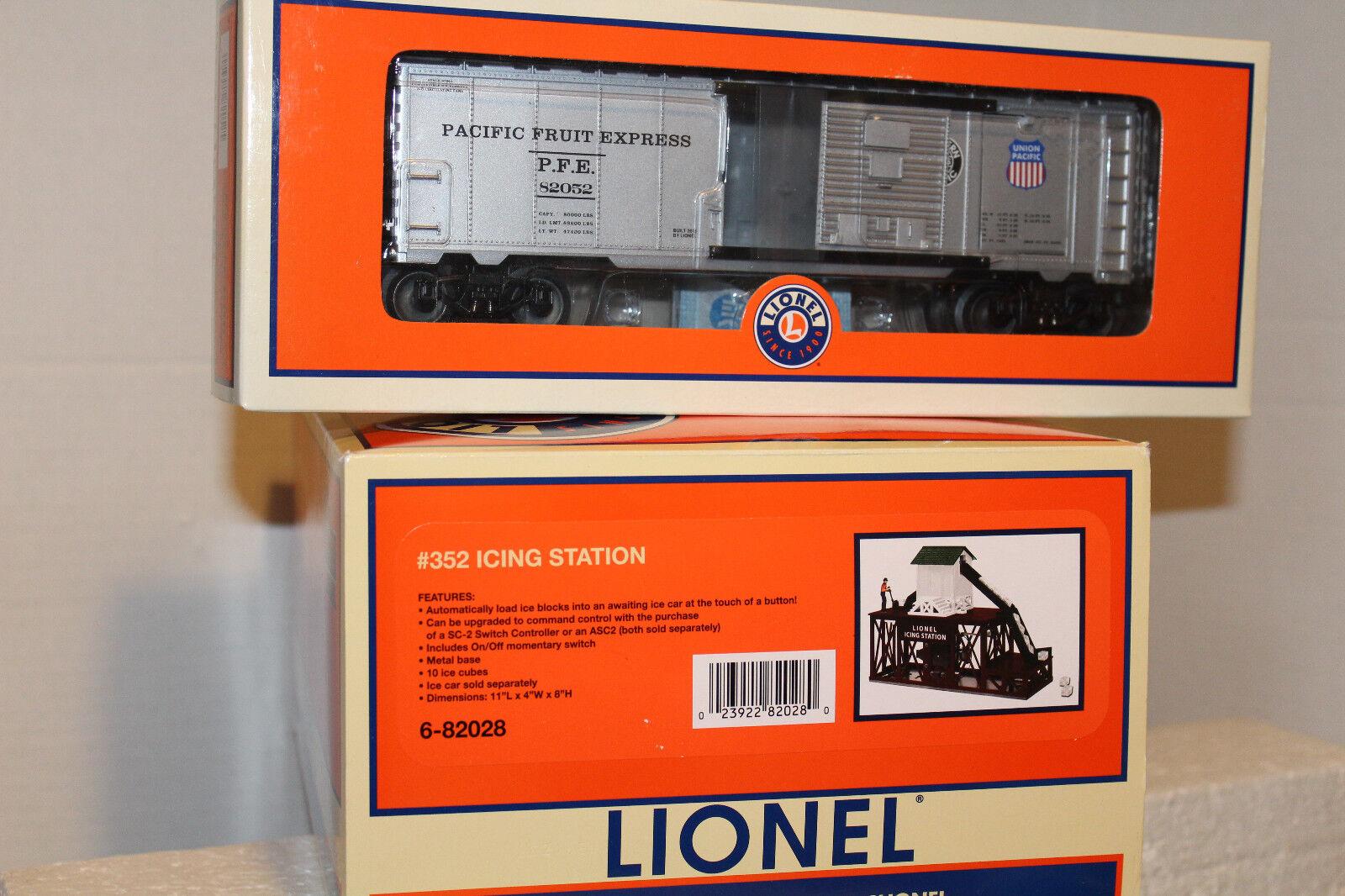 Lionel  82052 Estación De Glaseado operativos Plug n Play con hielo coche