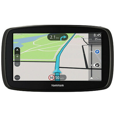 TomTom Start 50 Central Europe Navigationsgerät Lifetime Maps 5 Zoll