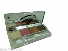 CLINIQUE ALL ABOUT EYE SHADOW QUAD FULL SIZE BROWN PINK BEIGE OLIVE IN MARTINI