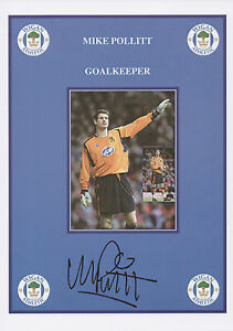 MIKE-POLLITT-Signed-12x8-Print-WIGAN-ATHLETIC-FC-COA