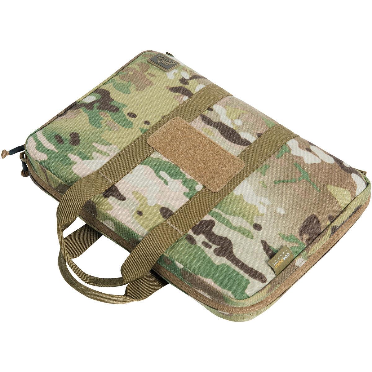Helikon Double Pistol Wallet Ammo Gun Carrier Storage Pouch Case Bag MultiCam