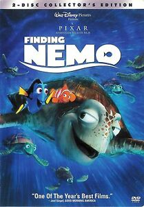 Walt-Disney-Finding-Nemo-2-Disc-Collector-039-s-Edition-DVD-THX-FREE-Shipping