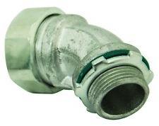 Konkore Ltq5045kon Liquid Tight 45 Deg Connector Withscrew On Ferrule Lot Of 25