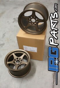 Lenso-VPD-Bronze-Drag-Autocross-Wheels-13x7-5-4x100-for-Civic-Integra-Miata-Rims