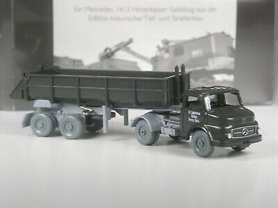 Wiking C/&I Sondermodell Mercedes 1413 Betonmischer Lambertsen Tiefbau