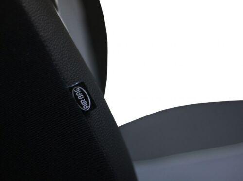 Borgoña Eco-cuero Universal Furgoneta Fundas De Asiento 2+1 para Renault Master