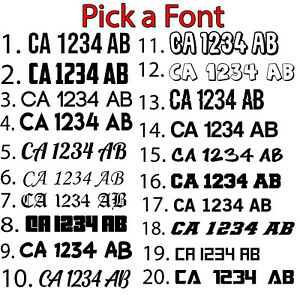 Boat-Registration-Number-Pair-Decal-Sticker-3-034-x18-034-Letter-Weatherproof-Outdoor
