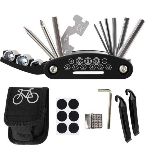 Bike Cycling Bicycle Repair Tool Kit Tire Spudger /& Patch /& Bag US NuQjN hgfd