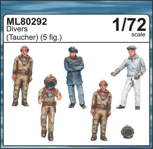 Taucher Figuren in 1:72 CMK ML80292 Divers
