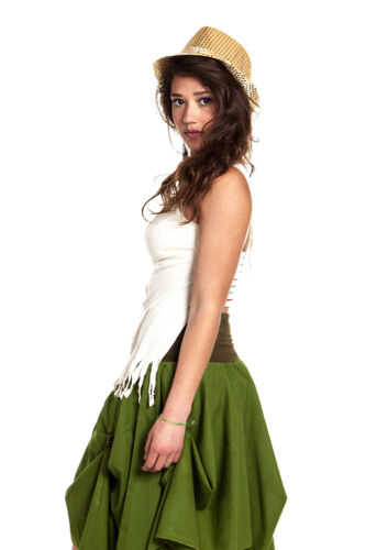 Boho Top Elf Top Festival Rave Top Trance Clothing Floaty Open Back Fairy Top