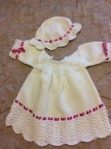 100% Vrai Hand Knitted Dolls Tenue-afficher Le Titre D'origine