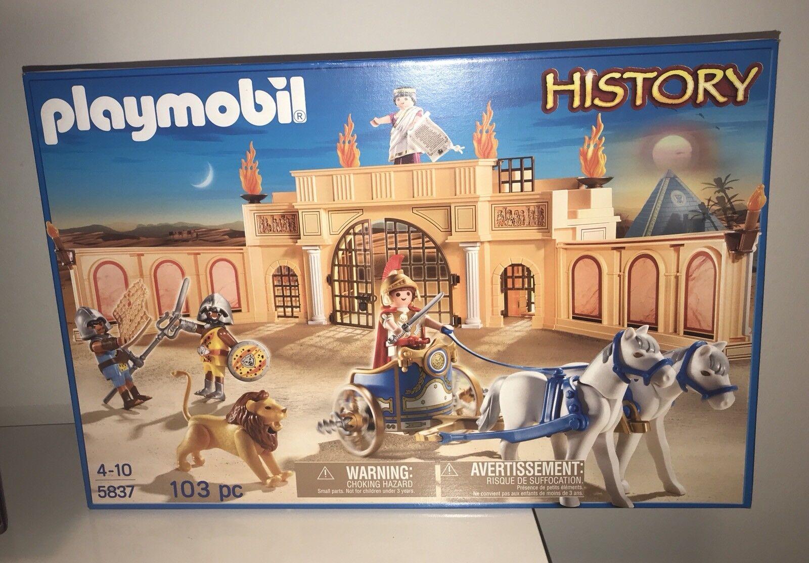 Playmobil 5837  Römische Arena   Gladiatoren - Neu - OVP -
