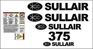Sullair 375 Compressor Service Manual