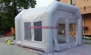 Portable Paint Booth >> Custom Made Portable 14 L X 9 W X 9 H Inflatable Spray Paint Booth