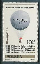 Poland stamps MNH Air balloons (from Mi. B85)