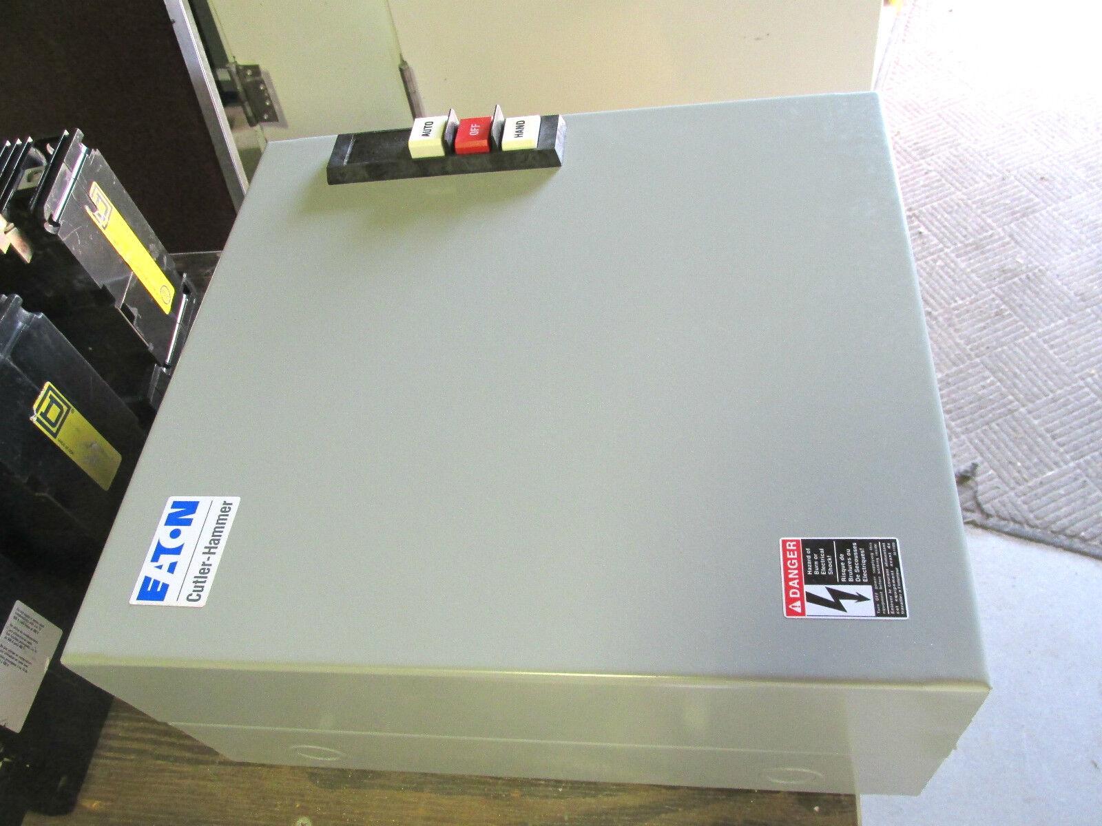 EATON CUTLER HAMMER ECL03C1A4A Lighting Contactor Nema 1 Enclosure 110//120V