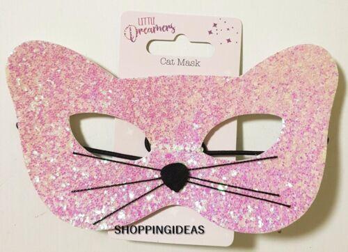 Cat Mask Headband Glitter Sparkle Kids Fancy Dress Xmas Stocking Filler Gift