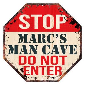 OTGM-0201-STOP-MARC-039-S-MAN-CAVE-Tin-Rustic-Sign-Man-Cave-Decor-Gift-Ideas