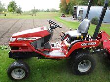 Massey Ferguson Diesel Tractor With Tiller