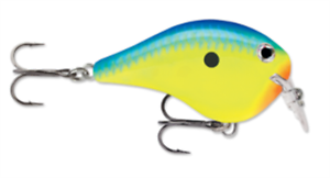 """Rapala Dives To Fat 1 /""""Parrot/"""""""