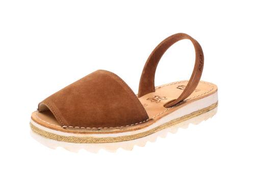 Damen Schuhe Sandalen offene Schuhe Ria Menorca 27200-S2 rodeo-cuero