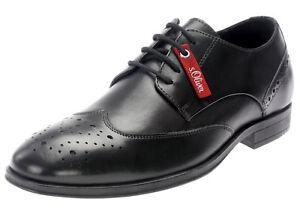 Schwarz Schnürer 13205 Derbys Schuhe oliver Klassik S Business Halbschuhe Zu Herren Details gy7bI6vYfm