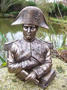 30152 Figurine Statuette Empereur Buste Napoleon Style Bronze