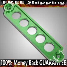 GREEN Billet Aluminum Battery Tie Down for 2002-2005 Honda Civic Si Hatchback 3D