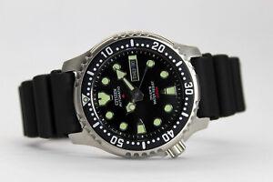 Citizen-Promaster-Aqualand-NY0040-09E-Automatico-Sub-Diver-039-s-200-Metri