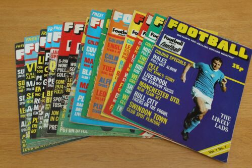 Monthly incorporating Digest // Pictorial Choose Your Issue Football Magazine
