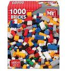 M.y 1000 Building Construction Bricks Build Toy Blocks Compatible Set
