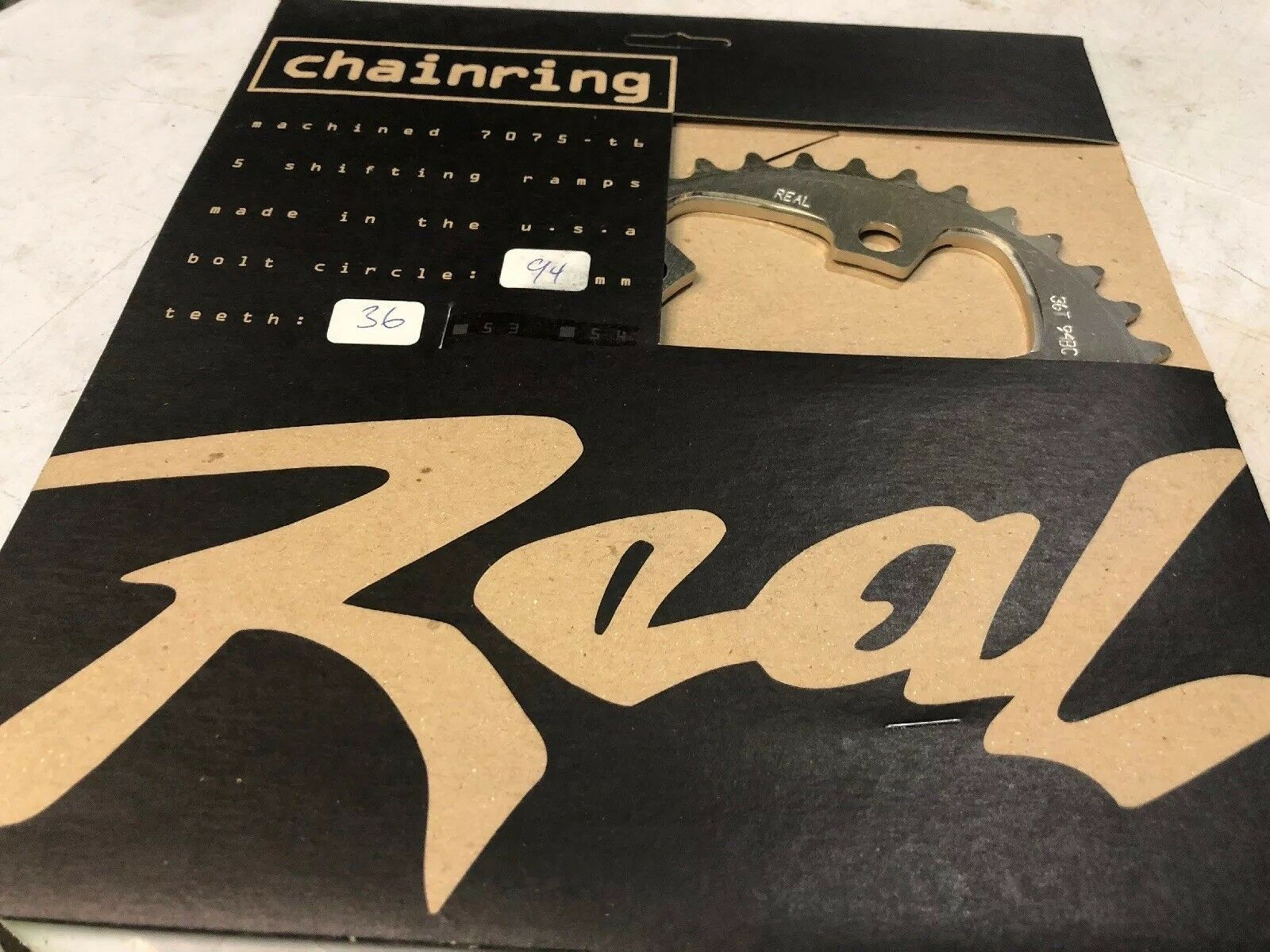 Real Chainring 36t  94BCD Mountain Bike MTB CNC