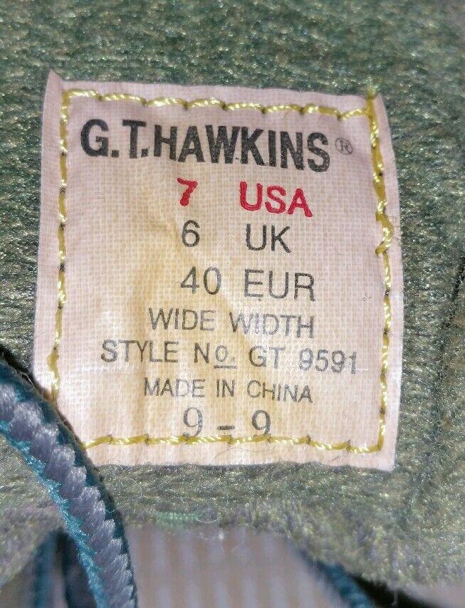 GT Hawkins Dark Green Charcoal Womens Trekking Boots US Size Size Size 7 GT-9591 GORE-TEX 1edbd0