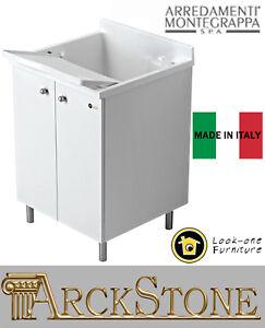 Mobile lavatoio lavanderia piedini marca arredamenti for Arredamenti montegrappa