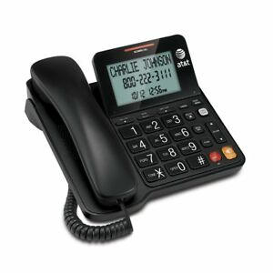 Home-Phone-With-Large-Button-For-Seniors-Caller-Id-Combo-Telephone-New