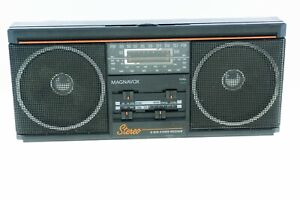 Magnavox Spatial Stereo Vintage Receiver D1670 Battery Mini Boom Box  AM/FM Exc.
