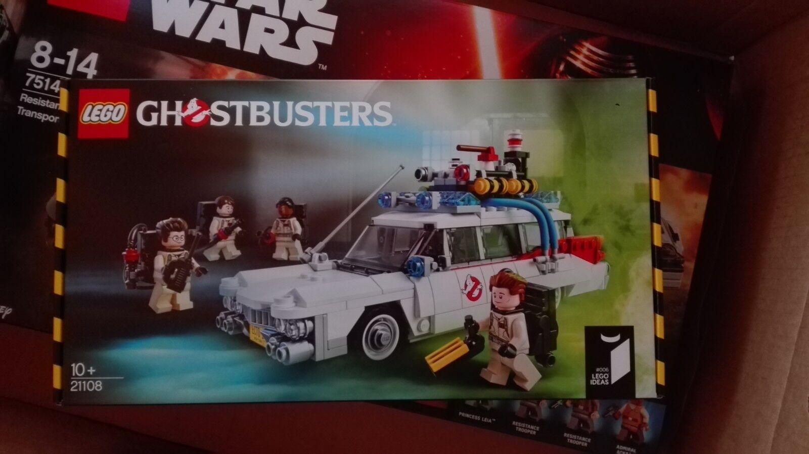LEGO 21108 Ideas GHOSTBUSTERS Ecto-1 NUOVO
