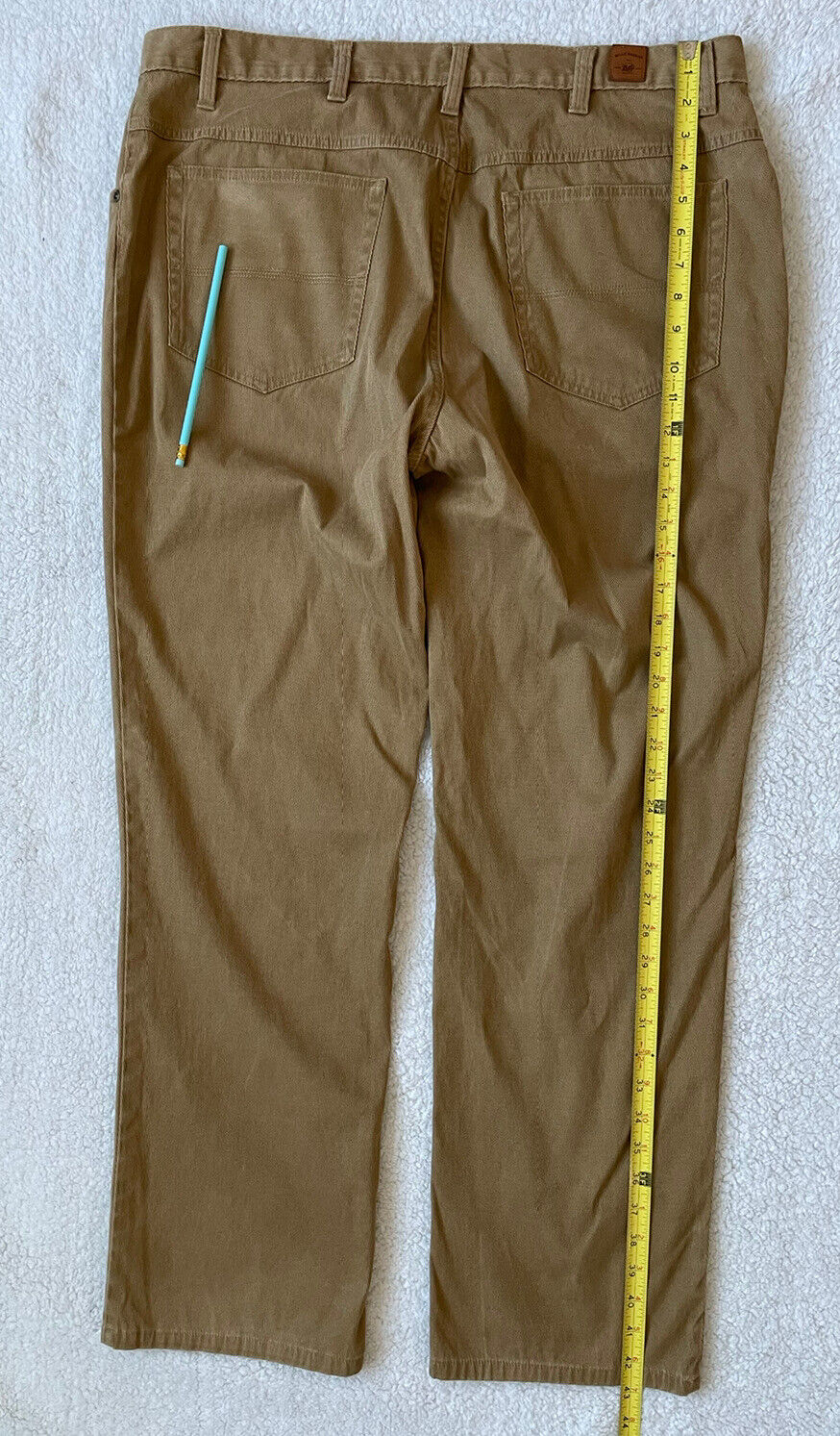 Bills Khakis Men Pleated Beige Cotton CORDUROY Ca… - image 8