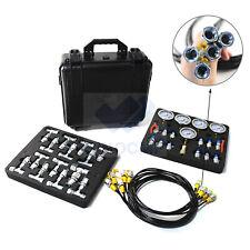 Hydraulic Pressure Gauges Kit With 5 Gauges 3 Test Hoses Amp 24 Couplings Test Kit