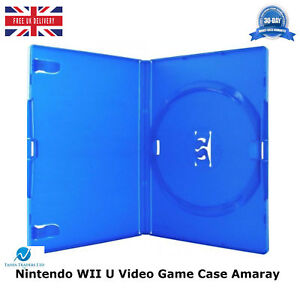 100-Nintendo-WII-U-Video-Game-Case-High-Quality-New-Replacement-Cover-Amaray
