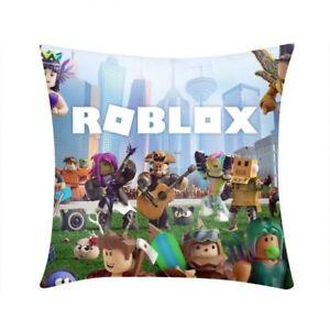 Roblox Throw Pillow Case Square Sofa Waist Couch Cushion Case Home