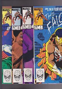 The-Falcon-1-4-1983-Marvel-Comics-Full-set-4-issue-mini-series