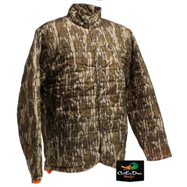 Mossy Oak Bottomland Browning Men/'s Quick Change Reversible Hunting Jacket