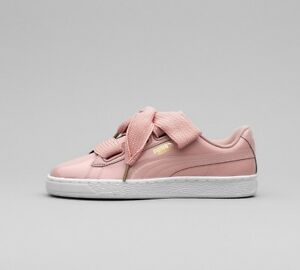 puma basket heart ebay