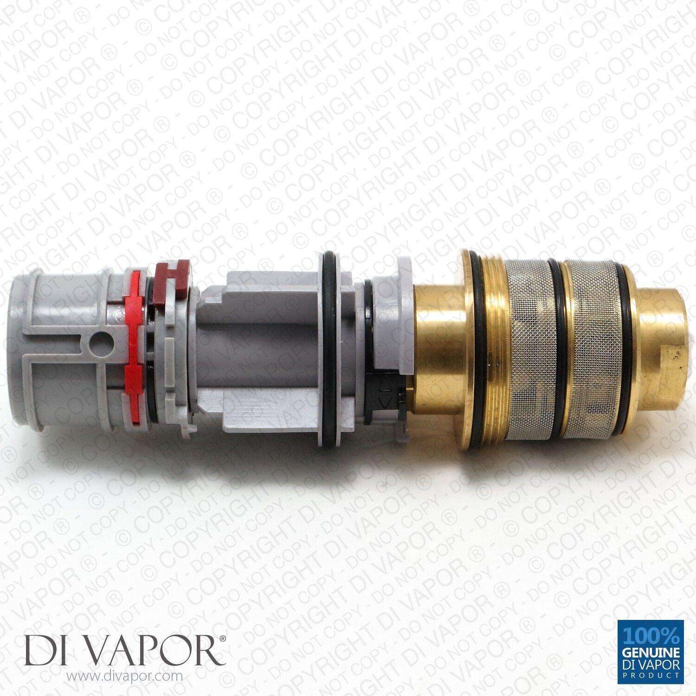 Dornbracht 0415020650090 Cartucho termostático 3 4 pulgadas con calibración de Francia
