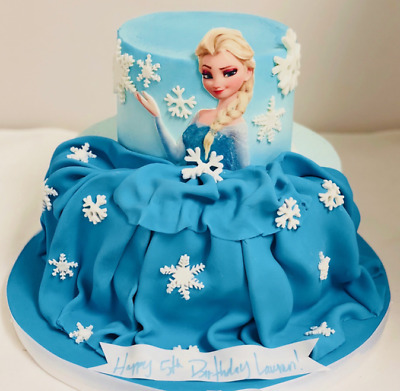 Frozen Personalised Large Cake Topper